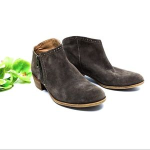 """{LUCKY BRAND} """"Benna"""" Suede Booties"""